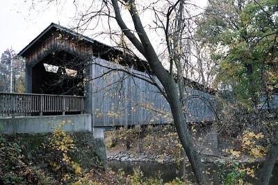 Covered Bridge. Ada, MI
