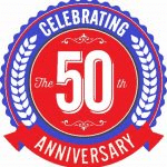 Anderson Brothers Celebrating 50 years badge